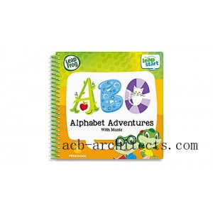 LeapStart® 2 Book Combo Pack: Alphabet Adventures and Read & Write Ages 2-5 yrs. - Sale