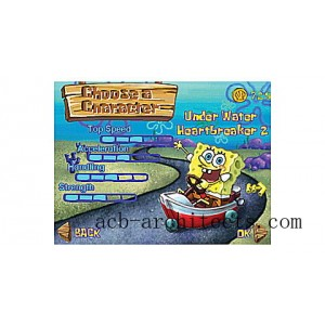 SpongeBob SquarePants: The Clam Prix Ages 4-7 yrs. - Sale