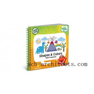 LeapStart™ Preschool Shapes & Colors Activity Book Ages 2-4 yrs. - Sale