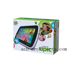 LeapFrog Epic™ Android Based Kids Tablet Ages 3-9 yrs. - Sale