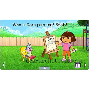 Dora the Explorer: Dora's Amazing Show Ultra eBook Ages 4-7 yrs. - Sale