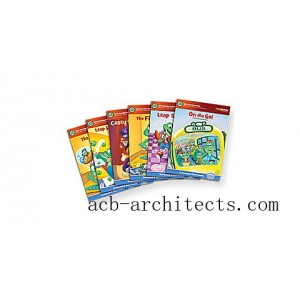 LeapReader™ Book Set: Learn to Read, Volume 1 Ages 4-7 yrs. - Sale