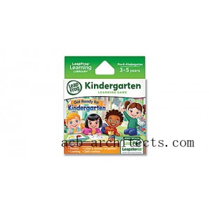 LeapPad® Game Cartridge 2-Pack Get Ready for Kindergarten & Preschool Adventures Ages 3-5 yrs. - Sale