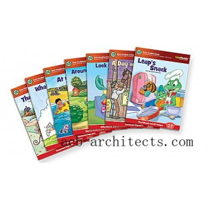 LeapReader™ Book Set: Learn to Read, Volume 3 Ages 4-7 yrs. - Sale