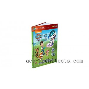 LeapReader™ Book: PAW Patrol: The Great Robot Rescue Ages 4-5 yrs. - Sale