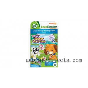 LeapReader™ Book: Pet Pals Sticker Story Time Ages 4-8 yrs. - Sale