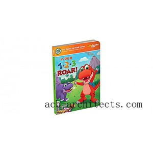 LeapReader™ Junior 1,2,3 Roar Counting Book Ages 1-3 yrs. - Sale