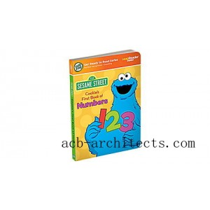 LeapReader™ Junior Book: Cookie Monster's First Book of Numbers Ages 2-3 yrs. - Sale