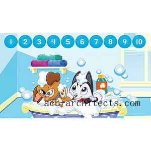 LeapStart® Pet Pal Puppies Math with Social Emotional Skills 30+ Page Activity Book Ages 3-5 yrs. - Sale
