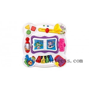Learn & Groove™ Musical Table Activity Center - Online Exclusive Pink Ages 6-36 months - Sale