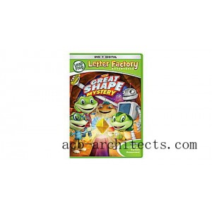 Letter Factory Adventures™: The Great Shape Mystery  DVD + Digital Ages 3-6 yrs. - Sale