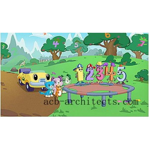 Scout & Friends: Numberland DVD Ages 2-5 yrs. - Sale