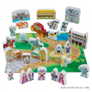 Melissa & Doug Wooden Castle Play Set - Sale