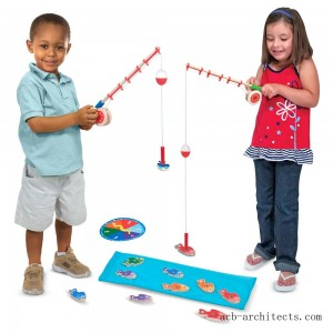 Melissa & Doug Catch & Count Fishing Game - Sale