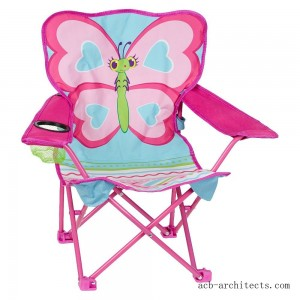 Melissa & Doug Sunny Patch Cutie Pie Butterfly Folding Lawn and Camping Chair - Sale