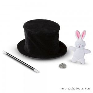 Melissa & Doug Magic in a Snap - Magician's Pop-Up Magical Hat with Tricks - Sale