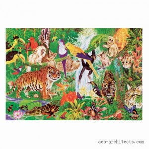 Melissa And Doug Rainforest Floor Puzzle 48pc - Sale