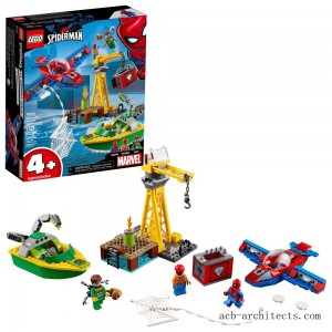 LEGO Super Heroes Marvel Spider-Man: doc Ock Diamond Heist 76134 - Sale