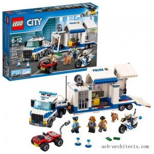 LEGO City Police Mobile Command Center 60139 - Sale