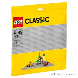 LEGO Classic Gray Baseplate 10701 - Sale