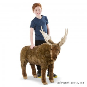 Melissa & Doug Moose Plush Toy - Sale