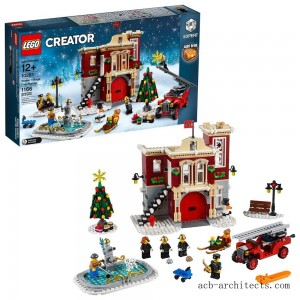 LEGO Creator Winter Village Fire Station 10263 - Sale