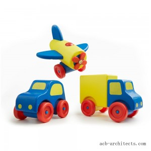 Melissa & Doug Deluxe Wooden First Vehicles Set With Truck, Car, and Airplane - Sale