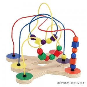 Melissa & Doug Classic Bead Maze - Wooden Educational Toy - Sale