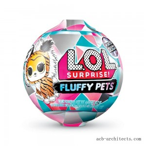 L.O.L. Surprise! Fluffy Pets Winter Disco Series with Removable Fur - Sale