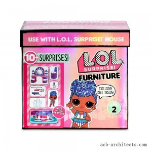 L.O.L. Surprise! Furniture Backstage with Independent Queen & 10+ Surprises - Sale