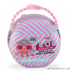L.O.L. Surprise! Ooh La La Baby Surprise Lil Kitty Queen with Purse & Makeup Surprises - Sale