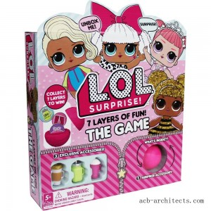 L.O.L. Surprise! 7 Layers of Fun Game, Kids Unisex - Sale