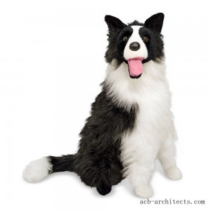 Melissa & Doug 2' Giant Border Collie - Sale