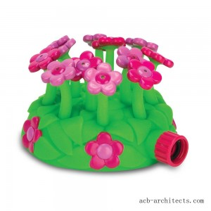 Melissa & Doug Sunny Patch Blossom Bright Sprinkler Toy With Hose Attachment, Kids Unisex - Sale