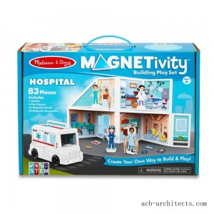 Melissa & Doug Magnetivity - Hospital - Sale