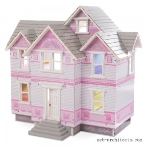 Melissa & Doug Victorian Dollhouse - Sale