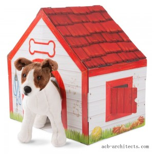 Melissa & Doug Doghouse Plush Pet Playhouse - Sale