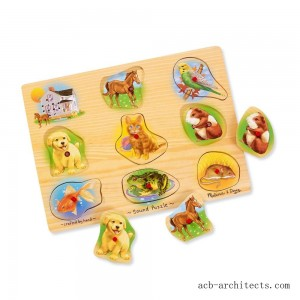 Melissa & Doug Assorted Pets Sound Puzzle Set - 9pc - Sale