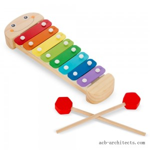 Melissa & Doug Caterpillar Xylophone Musical Toy With Wooden Mallets - Sale