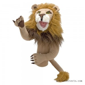 Melissa & Doug Rory the Lion Puppet With Detachable Wooden Rod for Animated Gestures - Sale