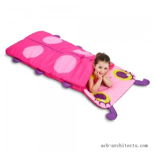 Melissa & Doug Sunny Patch Trixie Ladybug Sleeping Bag With Matching Storage Bag - Sale