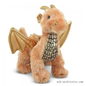 Melissa & Doug Luster Dragon Stuffed Animal - Sale