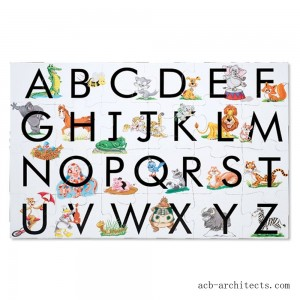 Melissa And Doug Learn The Alphabet Floor Puzzle 24pc - Sale